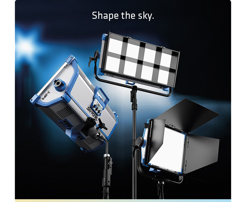 ARRI SkyPanel - Shape the sky