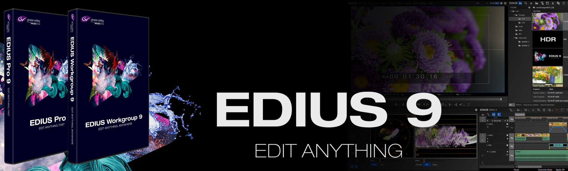EDIUS 9 - now available