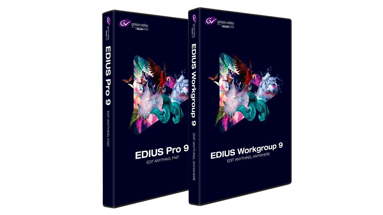 Edius 9 Pro/Workgroup